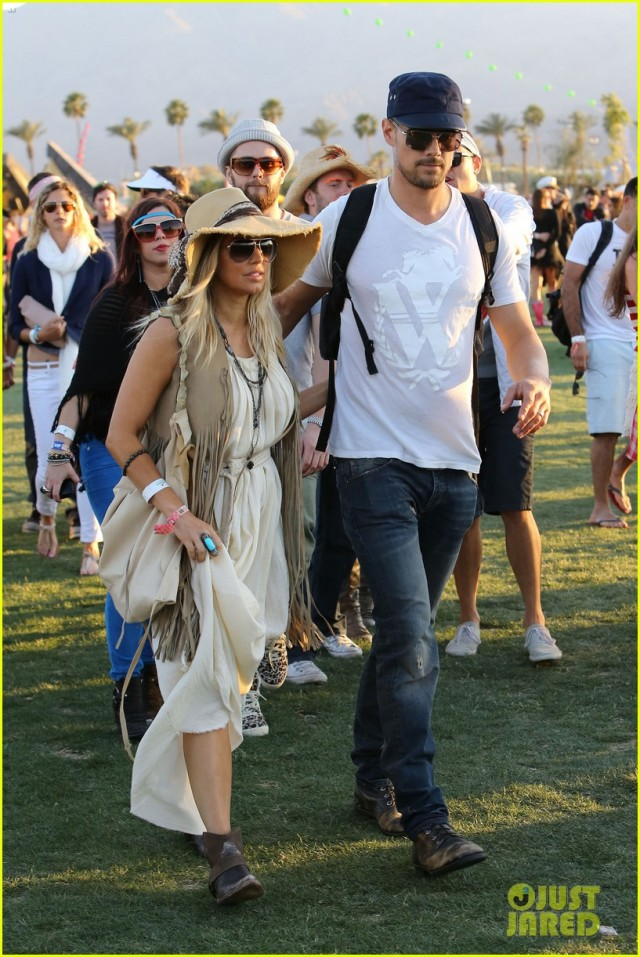 Fergie and Josh Duhamel : Coachella Couple