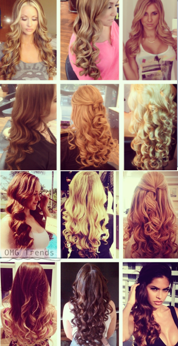 12 Different Types Of Curls From The Same Iron Omg Trends