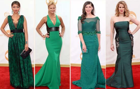 emmys-green-sarah-hyland-nancy-odell-mayim-bialik-anna-chlumsky