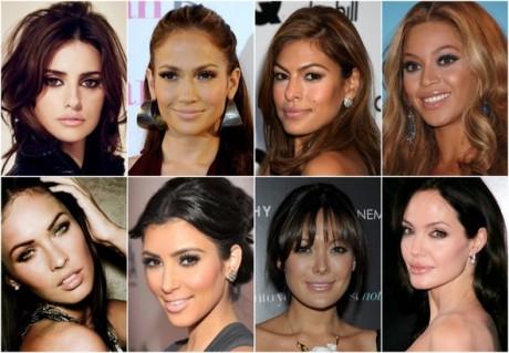 celebrity nude lips smokey eye makeup inspiration-1